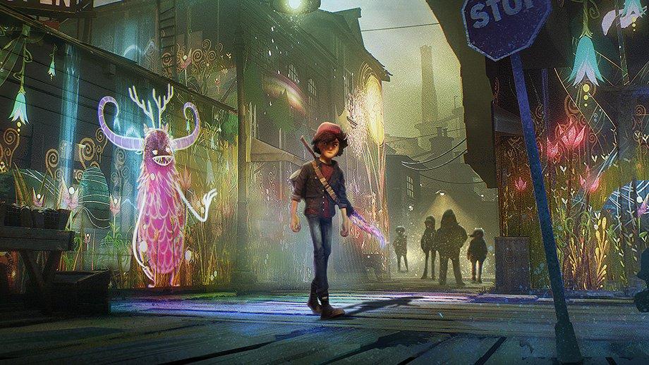 Concrete Genie  combines beautiful visuals and unique gameplay.