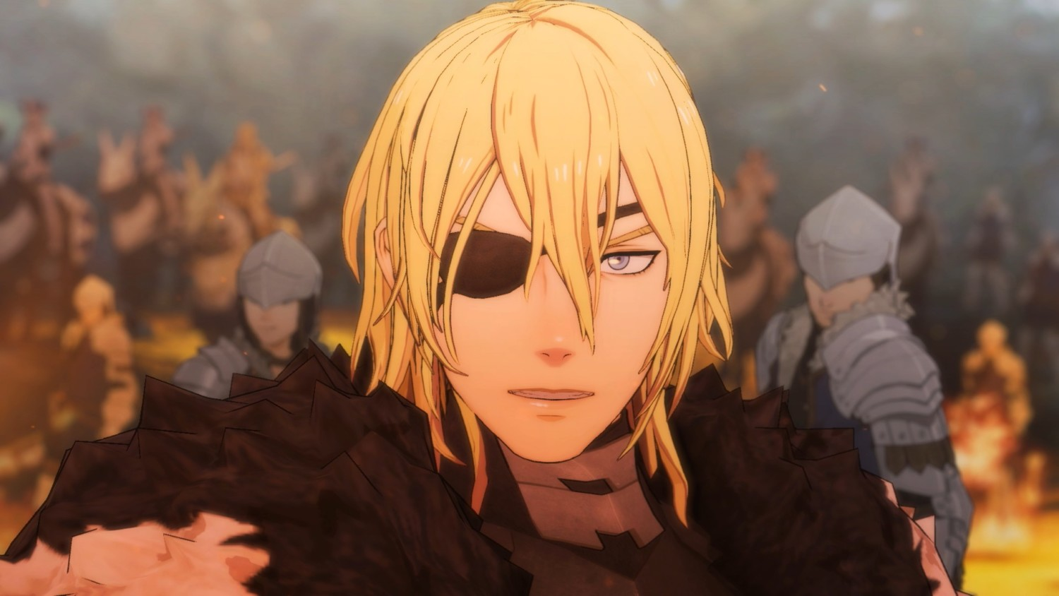 Dimitri looks like he's seen some stuff during the 5 year jump.