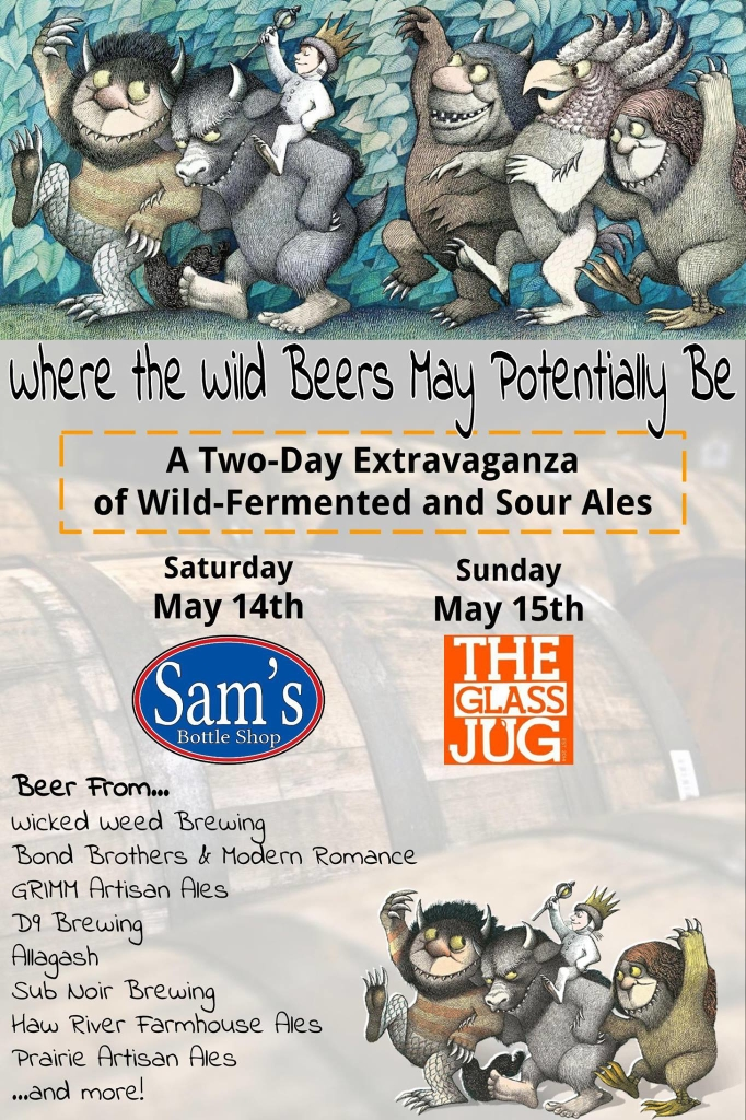 Wild Sour Beer Event Poster