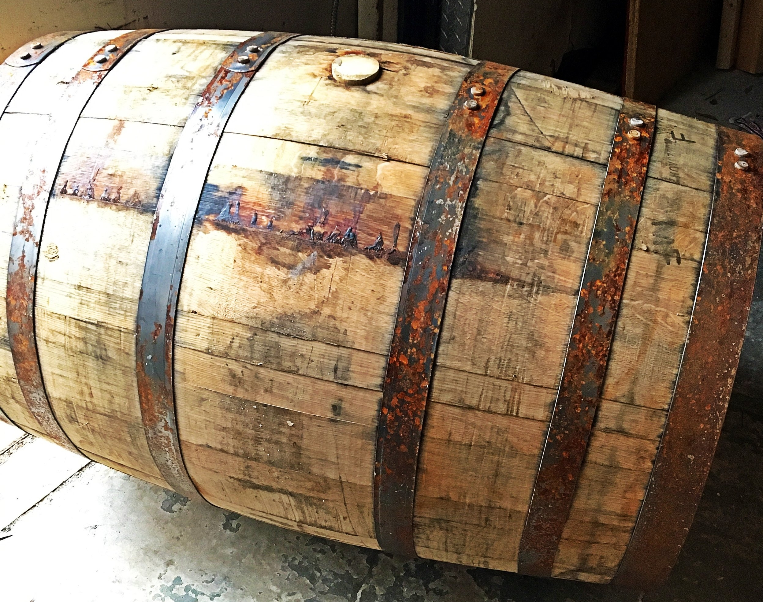 The barrels are already begging me to fill them with imperial stout