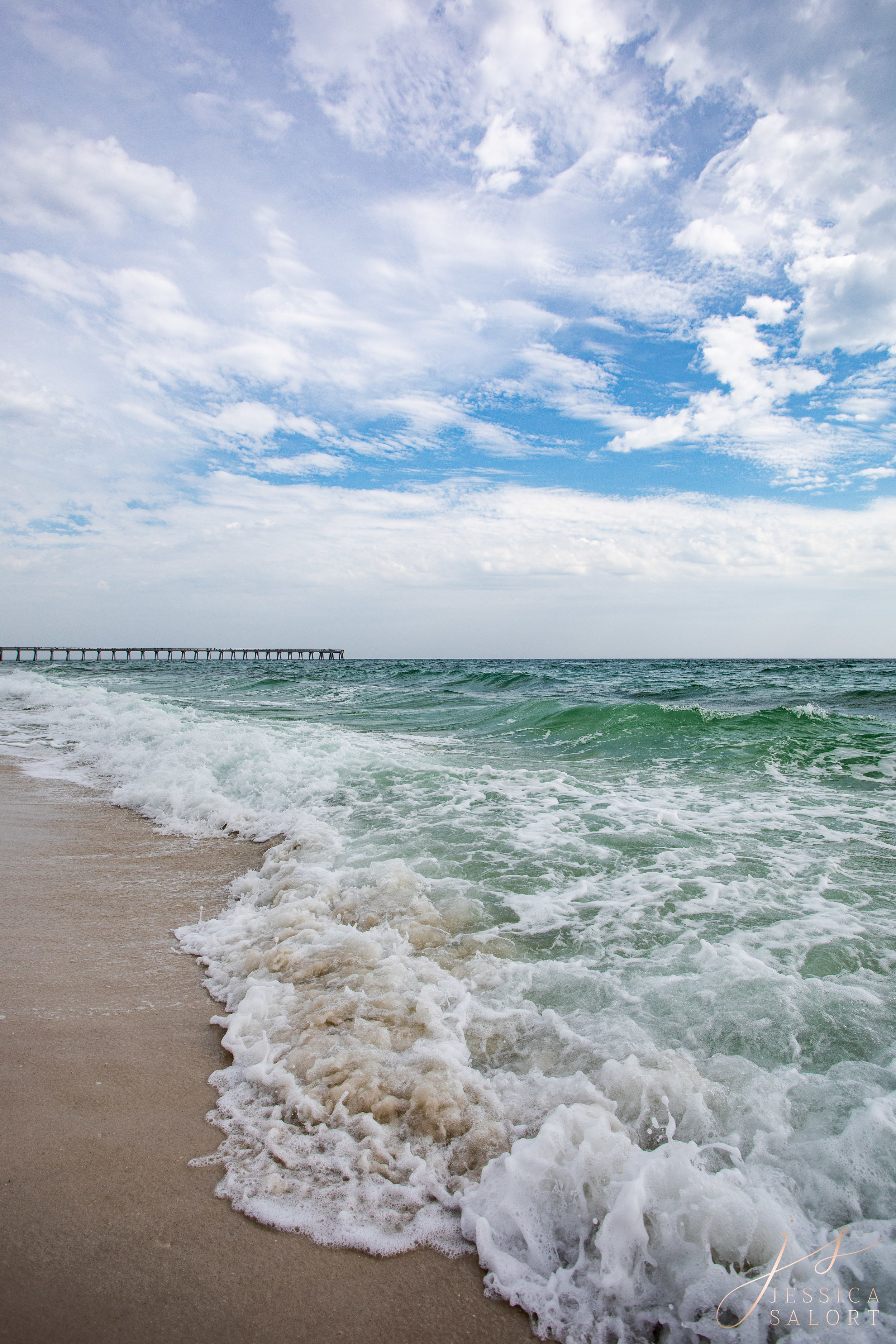 Jessica Salort, Navarre Beach