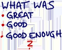 Great Good Good Enough