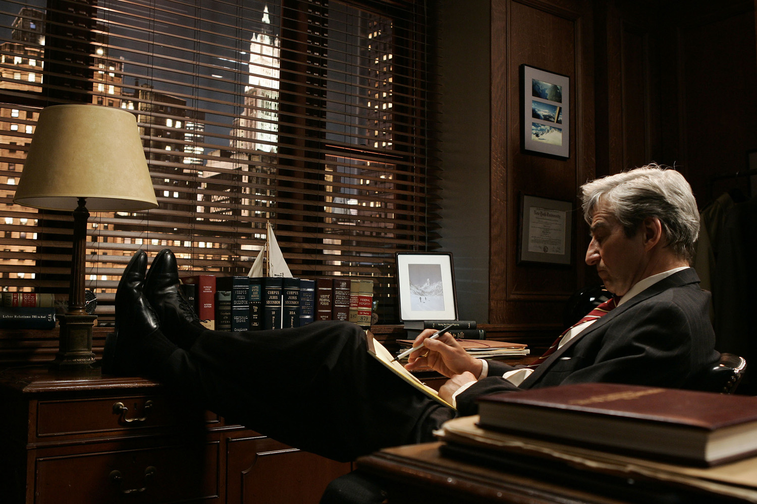 Law & Order: Sam Waterston