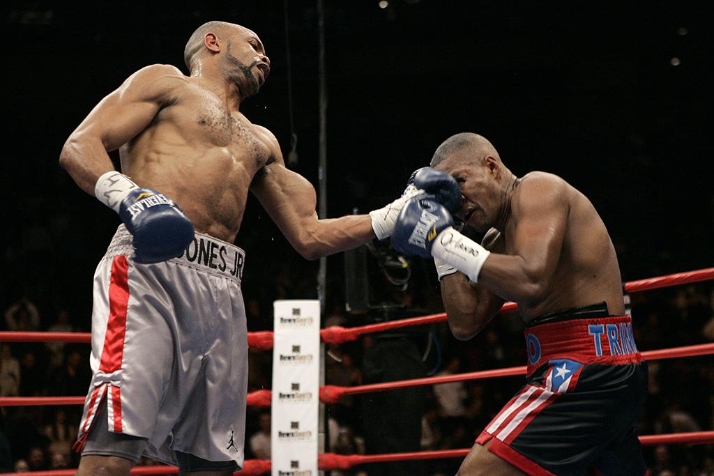 "Roy Jones Jr vs ""Tito"" Trinidad"