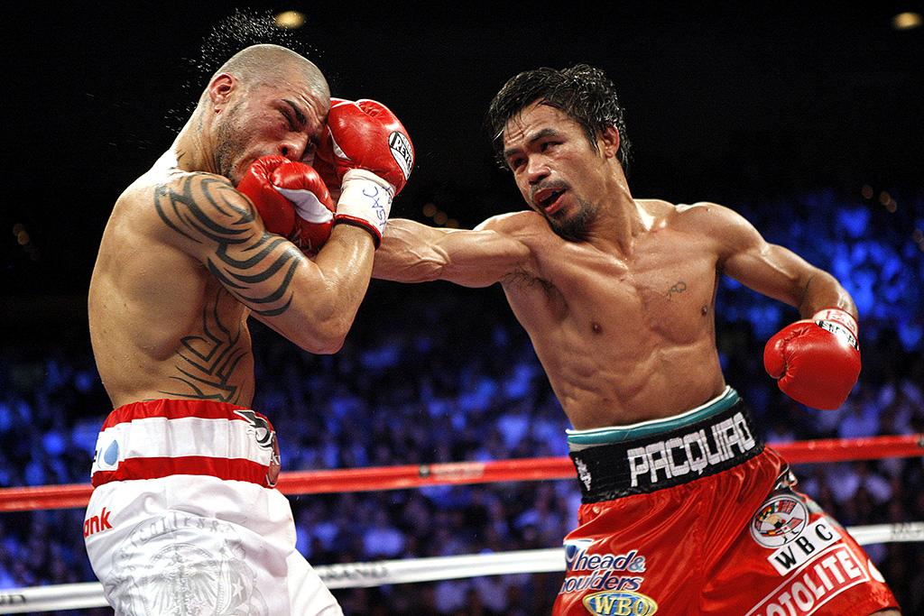 Paquiao TKO's Cotto