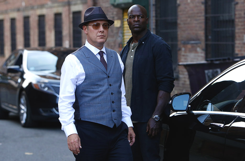 The Blacklist - James Spader & Hisham Tawfiq