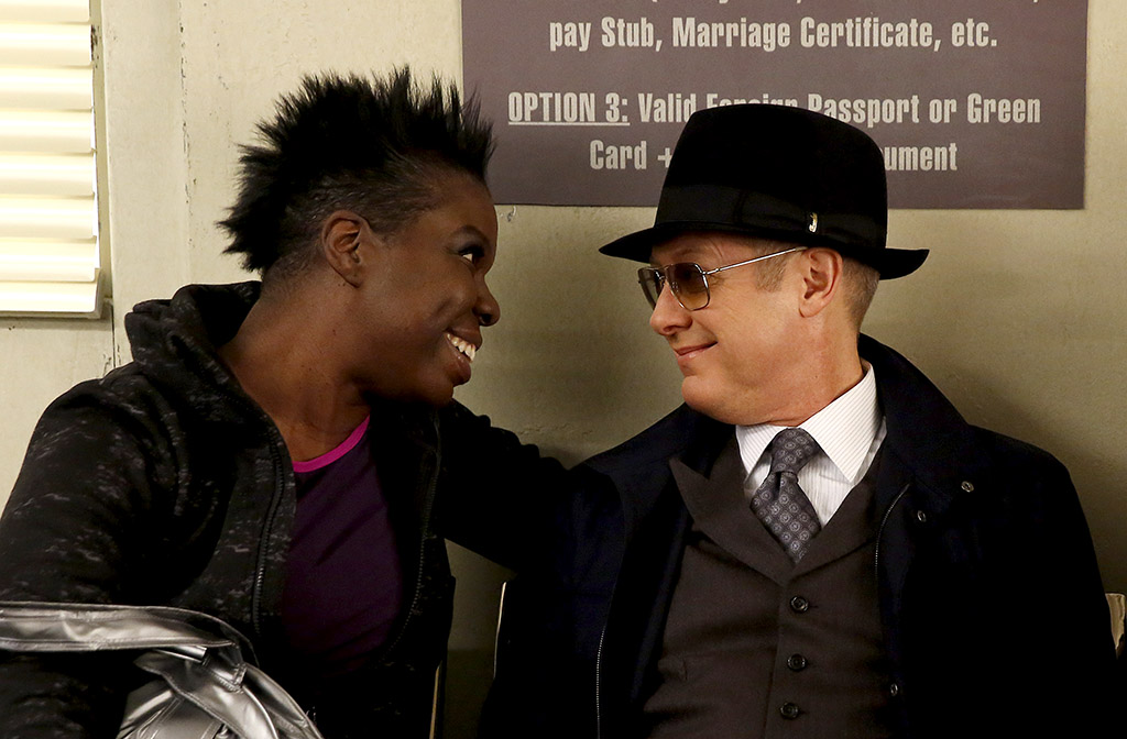 Leslie Jones & James Spader at the DMV