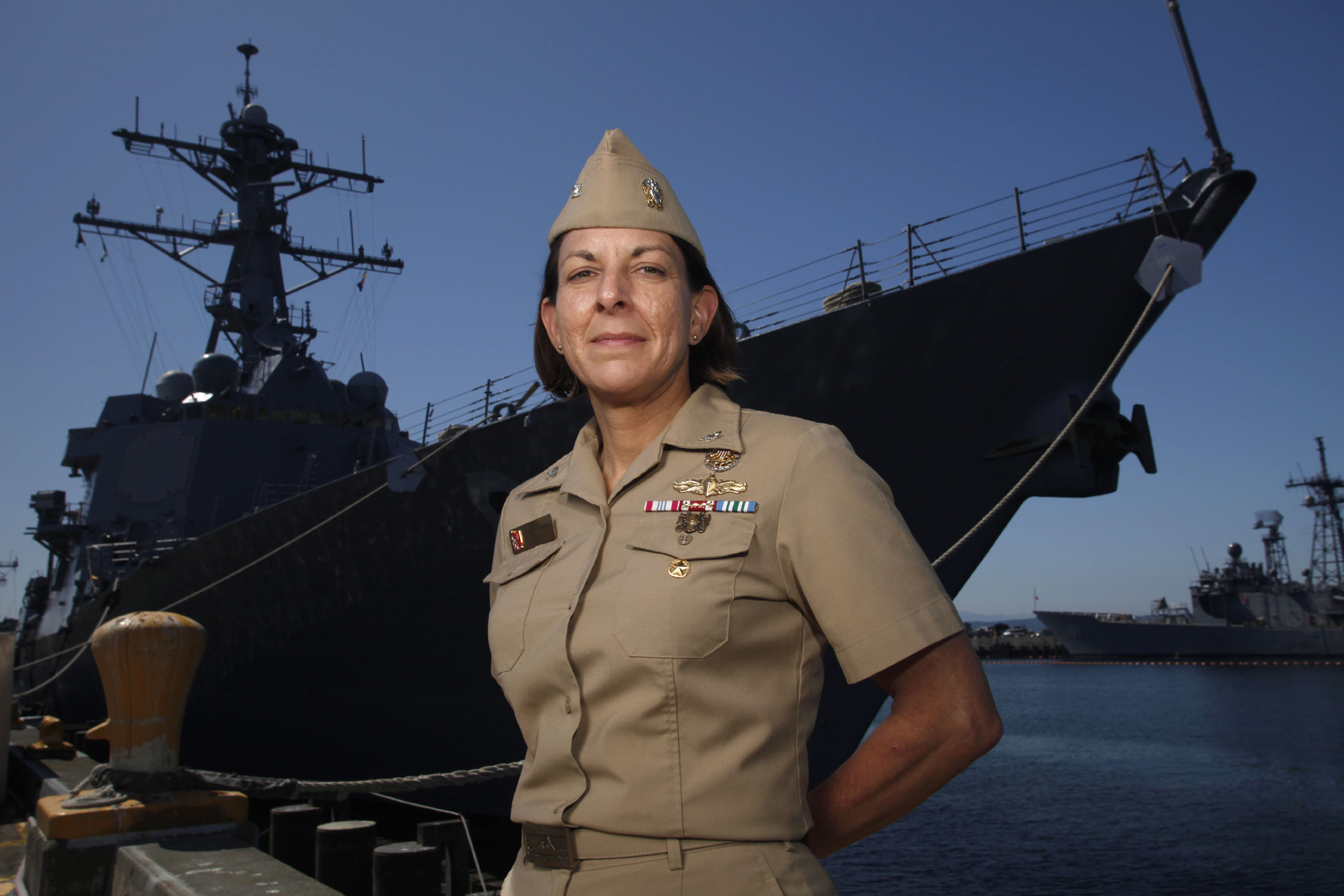 US Navy Captain Carol A. Hottenrott