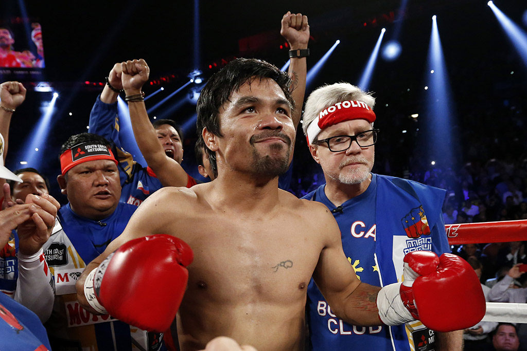 Fight Intro: Manny Pacquiao