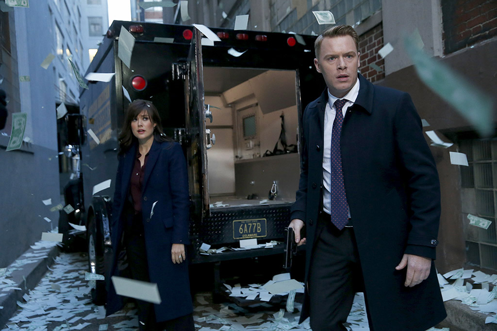 The Blacklist: Diego Klattenhoff & Megan Boone