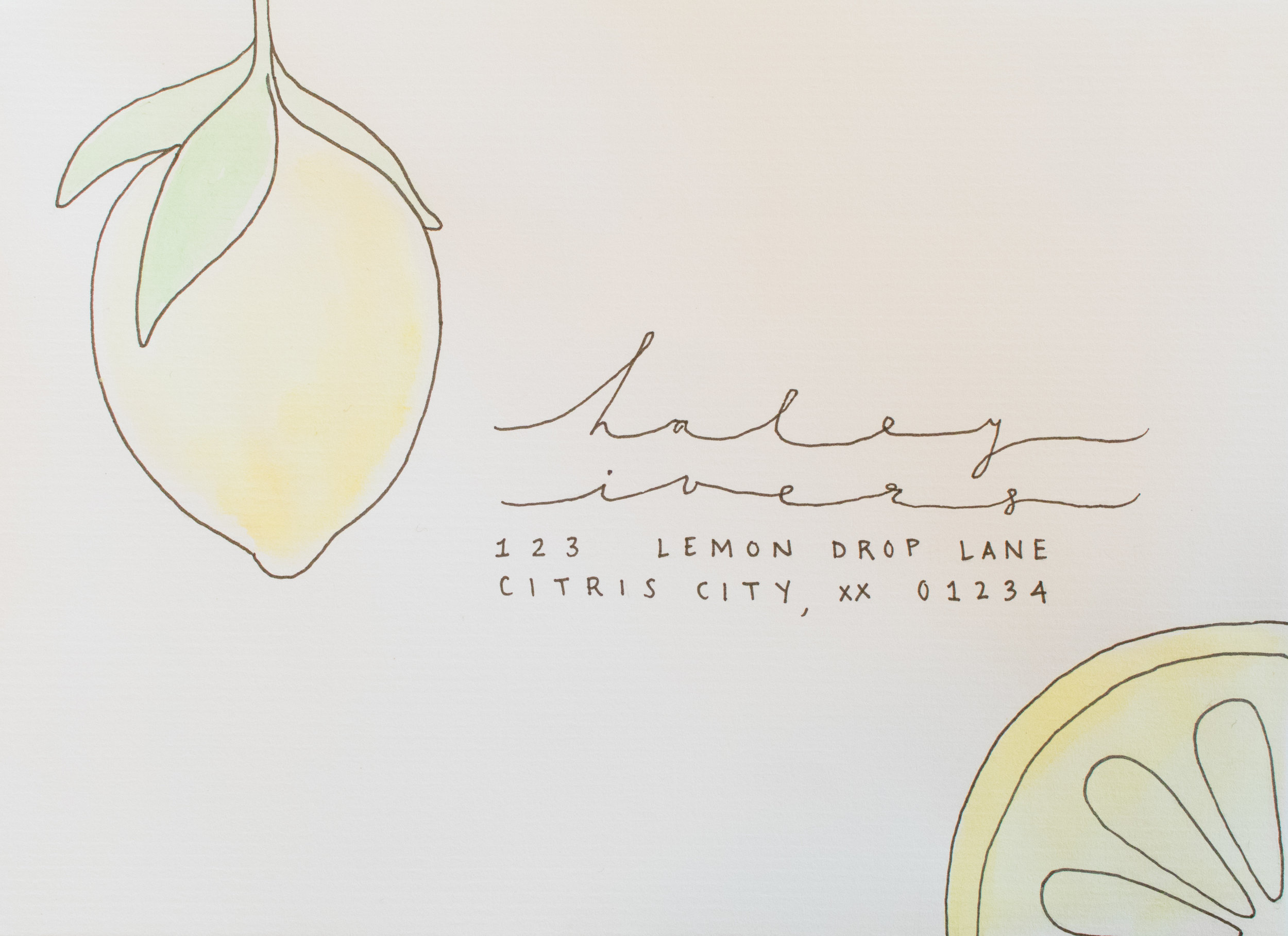 lemon-envelope