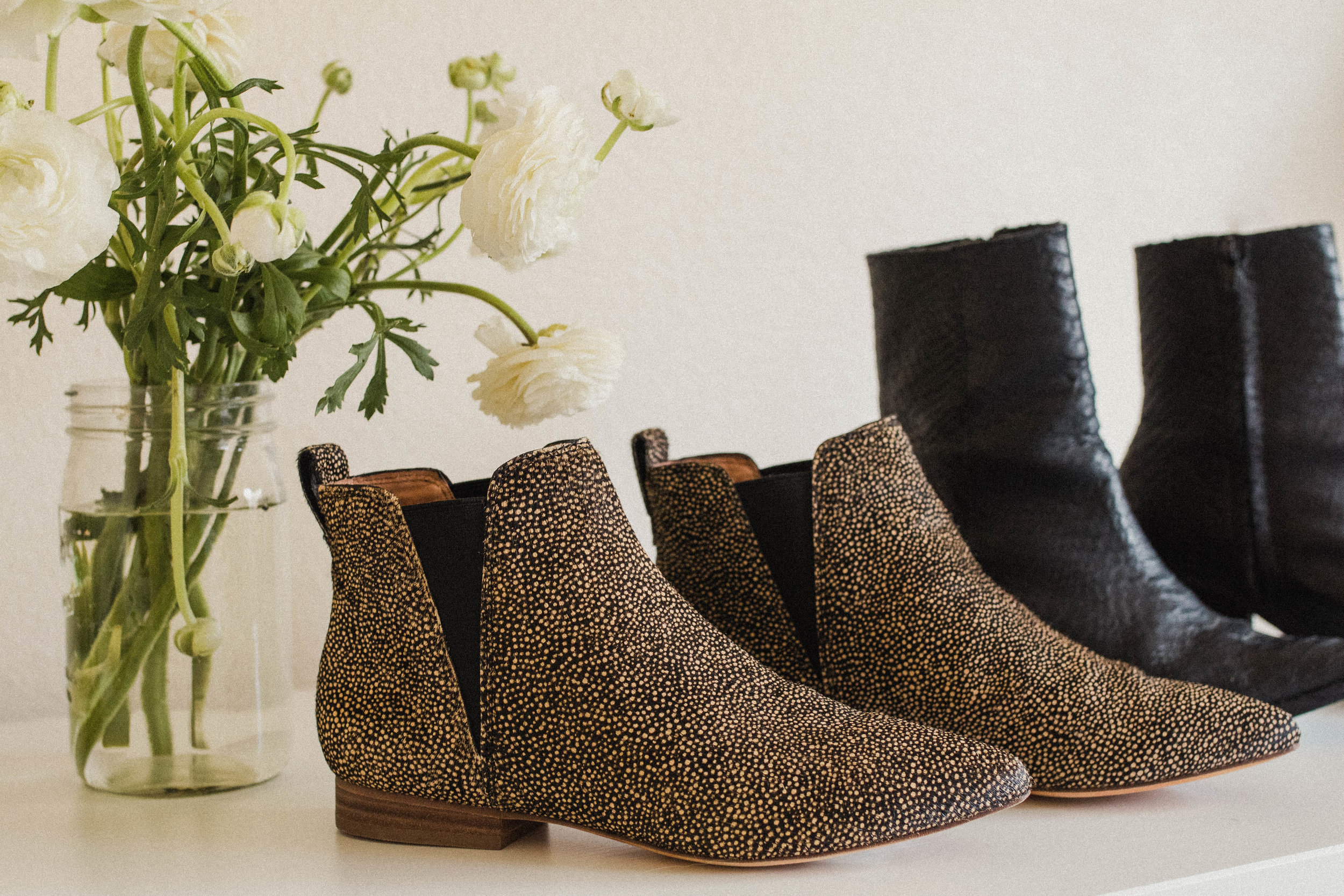 Madewell Patterned Booties
