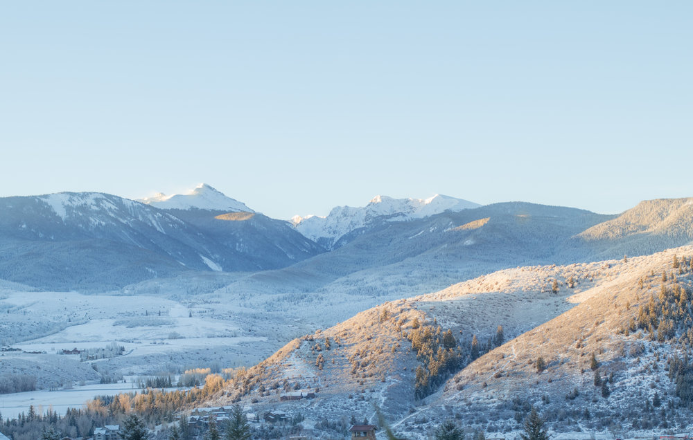 Vail, Colorado Sunrise by Haley Ivers