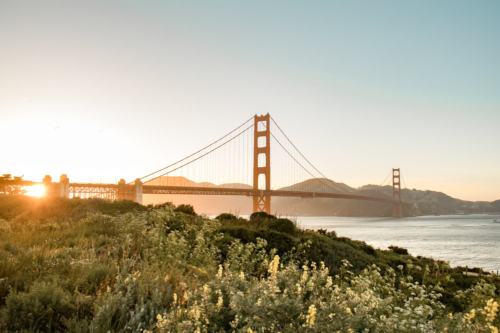 Golden Gate Bridge Sunset by Haley Ivers