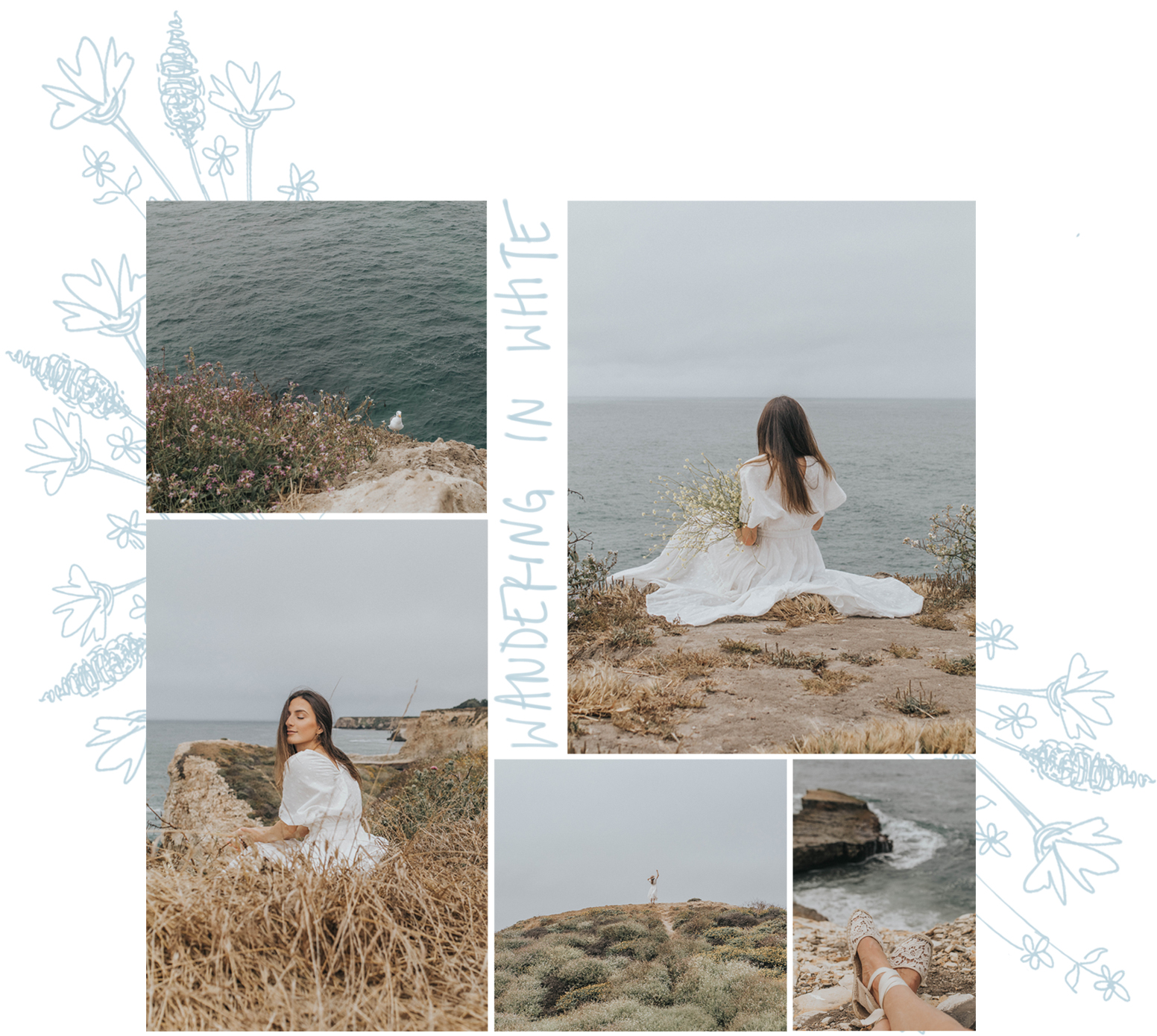 wandering in white haley ivers