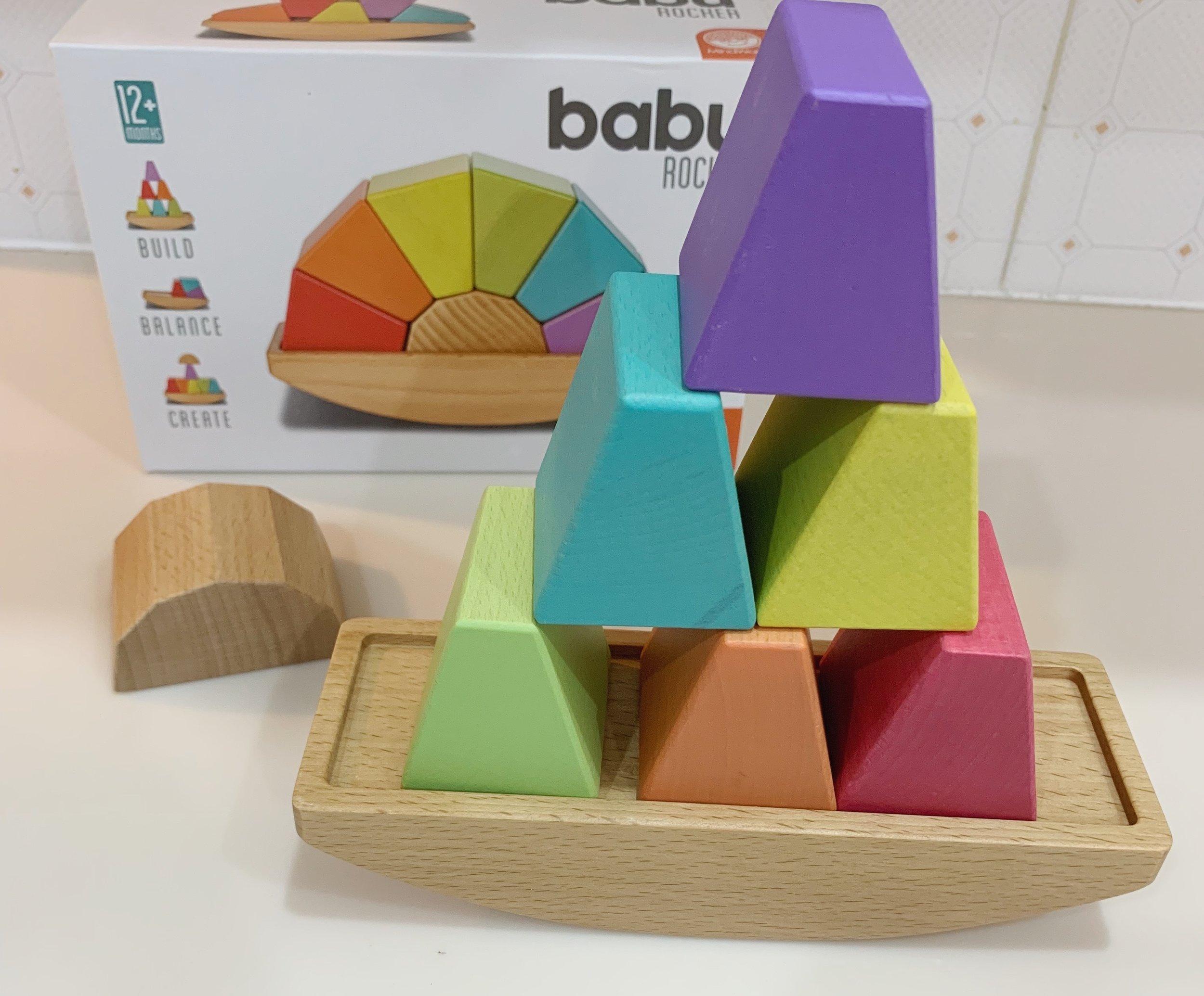 wooden balance toy
