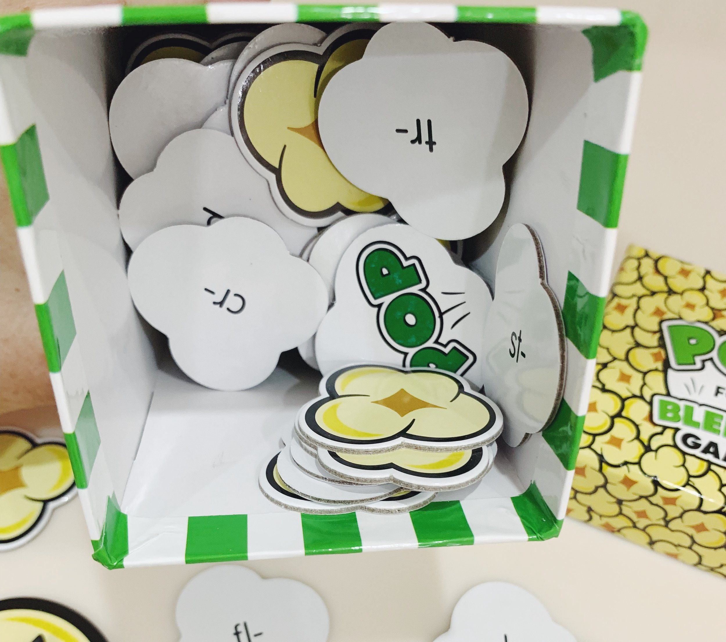 Pop for Blends spelling and reading game