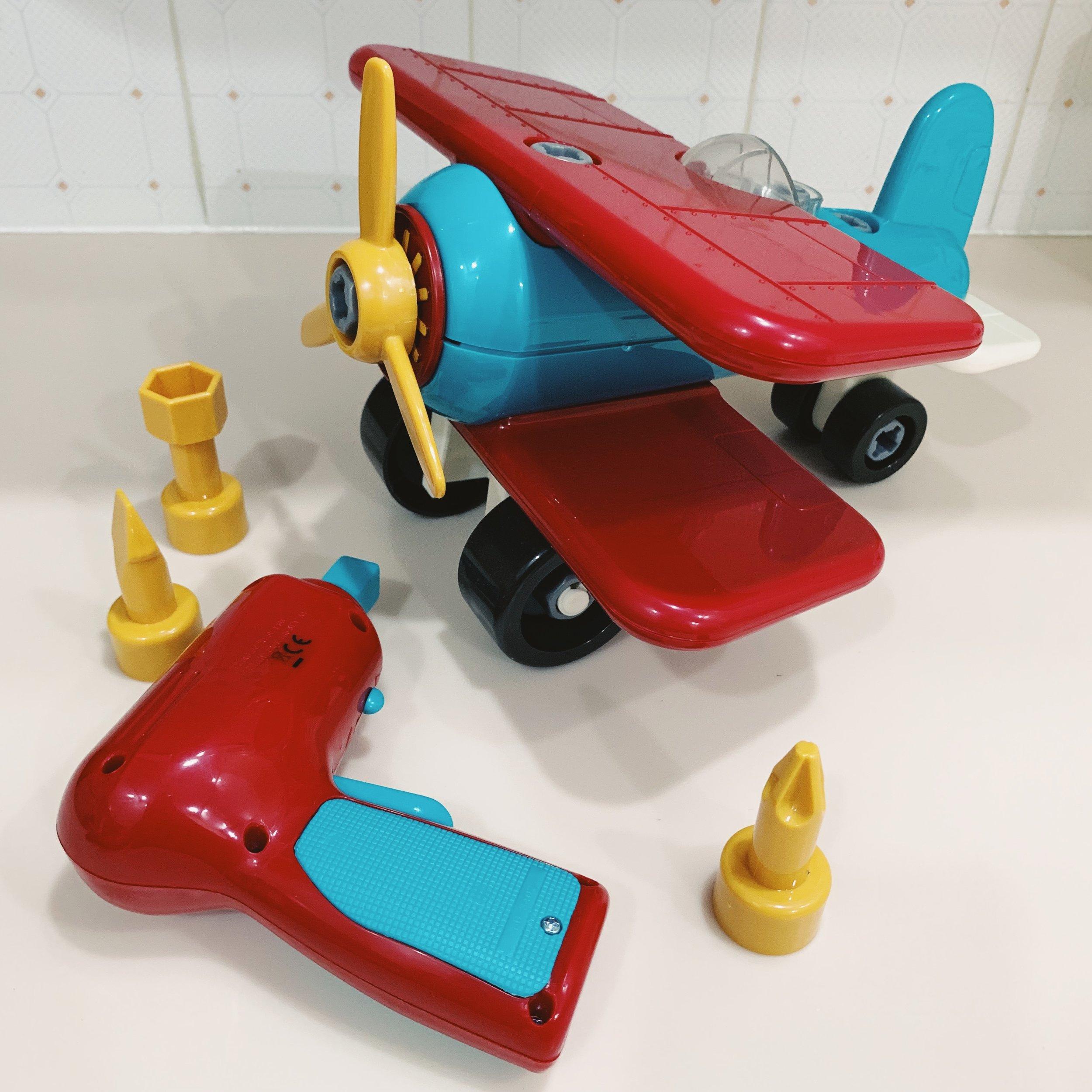 take apart plane set