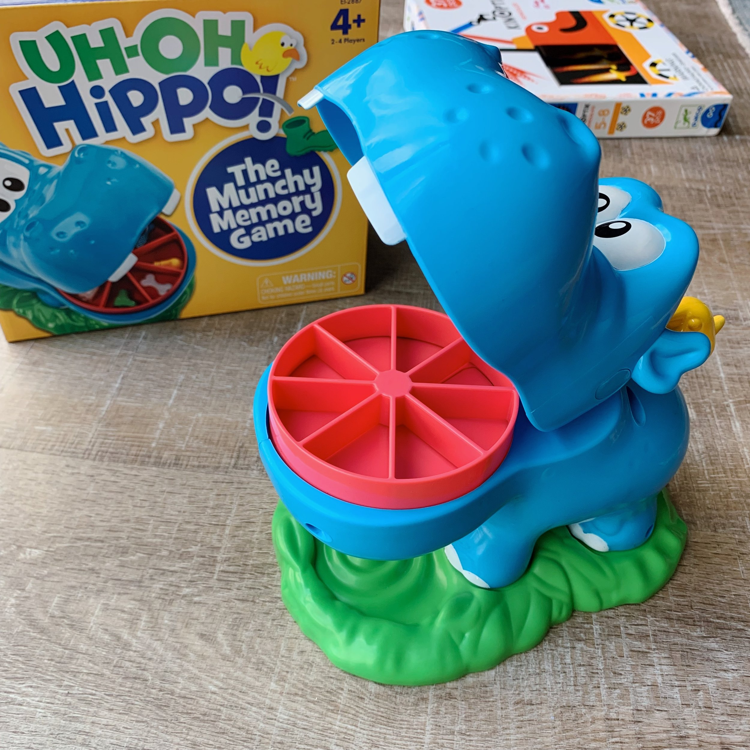 Uh-oh Hippo Game