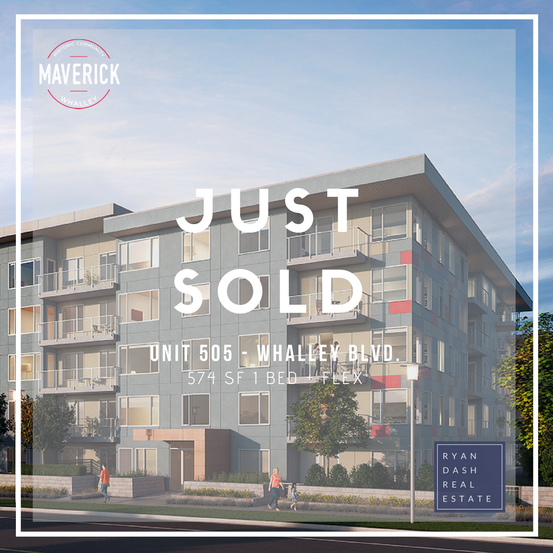 Maverick (Again!)  Congratulations to my clients who secured their first investment property together. This unit located on the top floor with southern exposure is the perfect entry level investment.