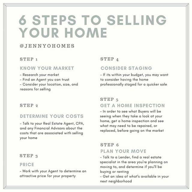 6 Steps to prepare you for selling your  primary residence! Written by an experienced real estate agent! 😉