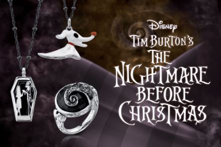 """20/"""" Disney Nightmare Before Christmas Sterling Silver Zombie Duck Necklace"""
