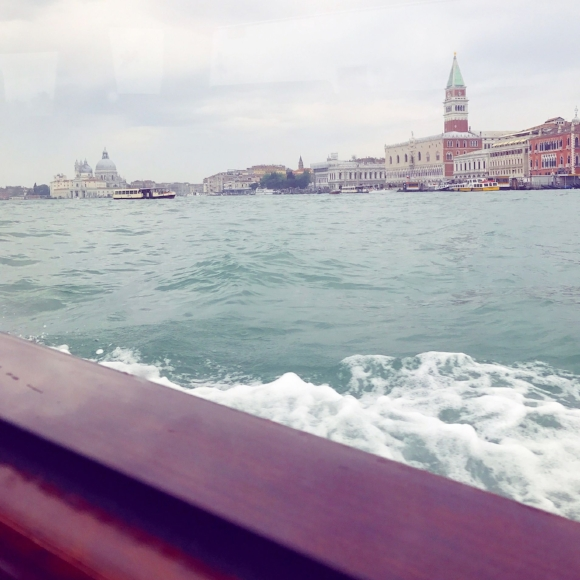 Pulling into Venice, the start of a new adventure.