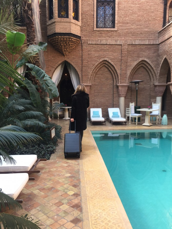 """Off to London... Until next time, Marrakech!"""