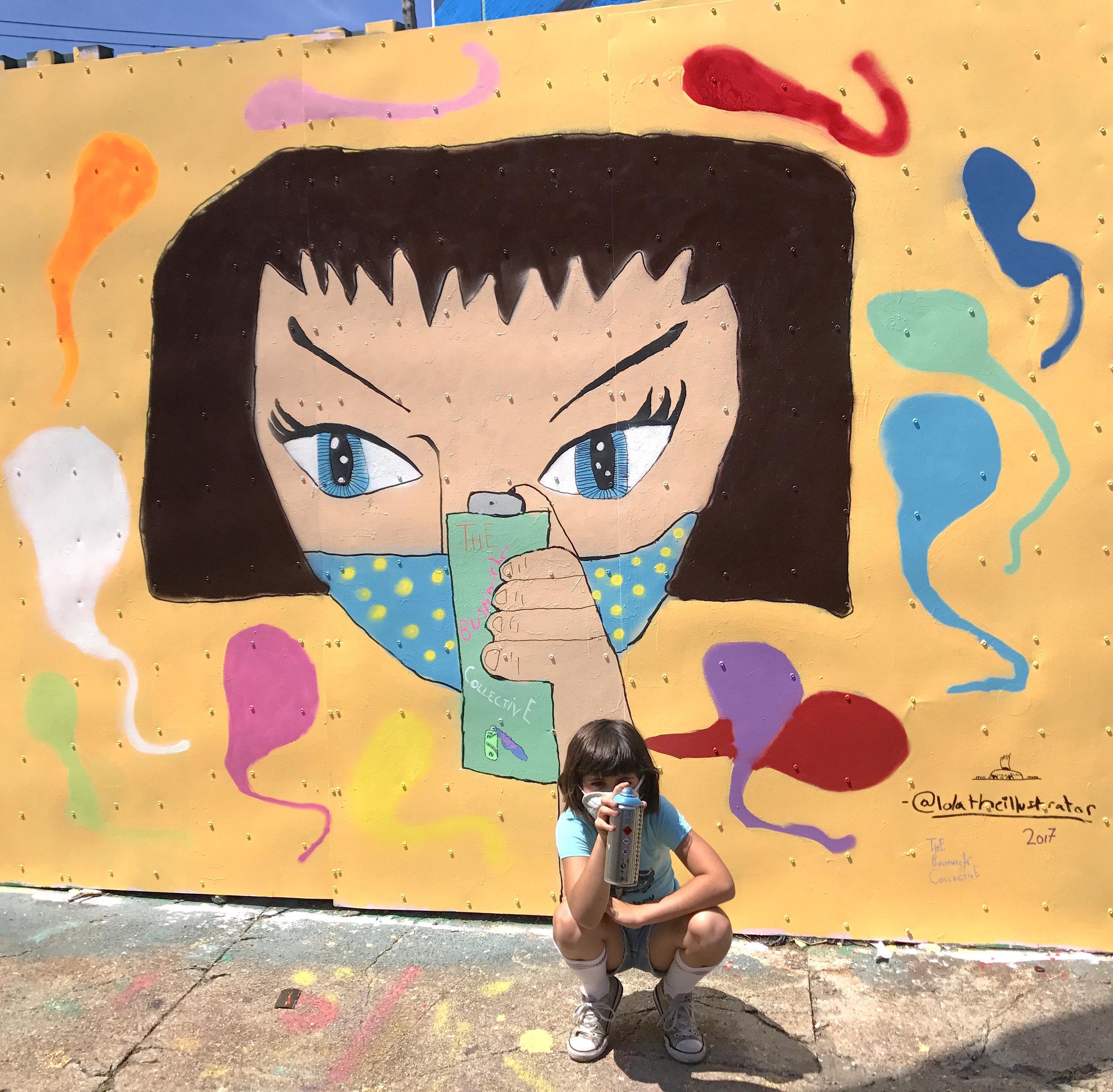 """Spray Girl"""