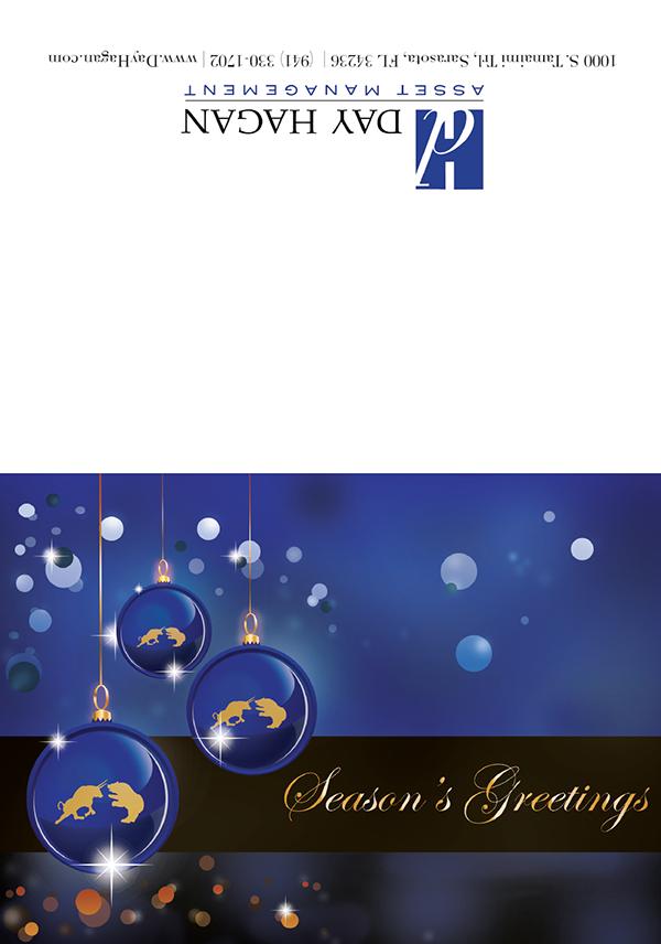 Illustrated Day Hagan Christmas Card 2013