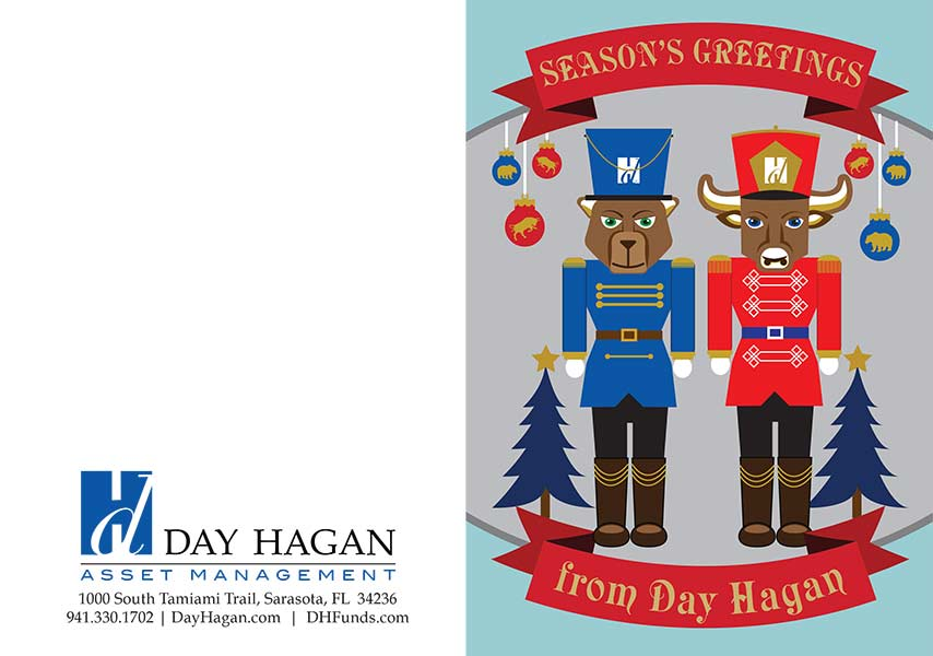 Illustrated Day Hagan Christmas Card 2015