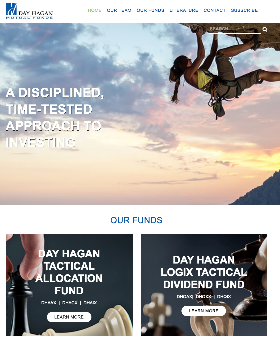 Day Hagan Funds Website Project