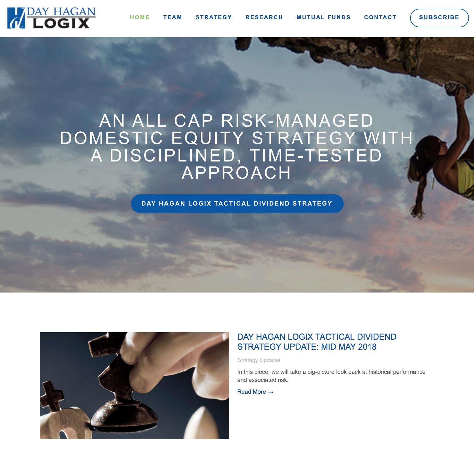 Day Hagan Logix Company Website Project