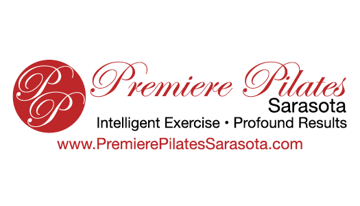 Premiere Pilates Sarasota Business Card - Back