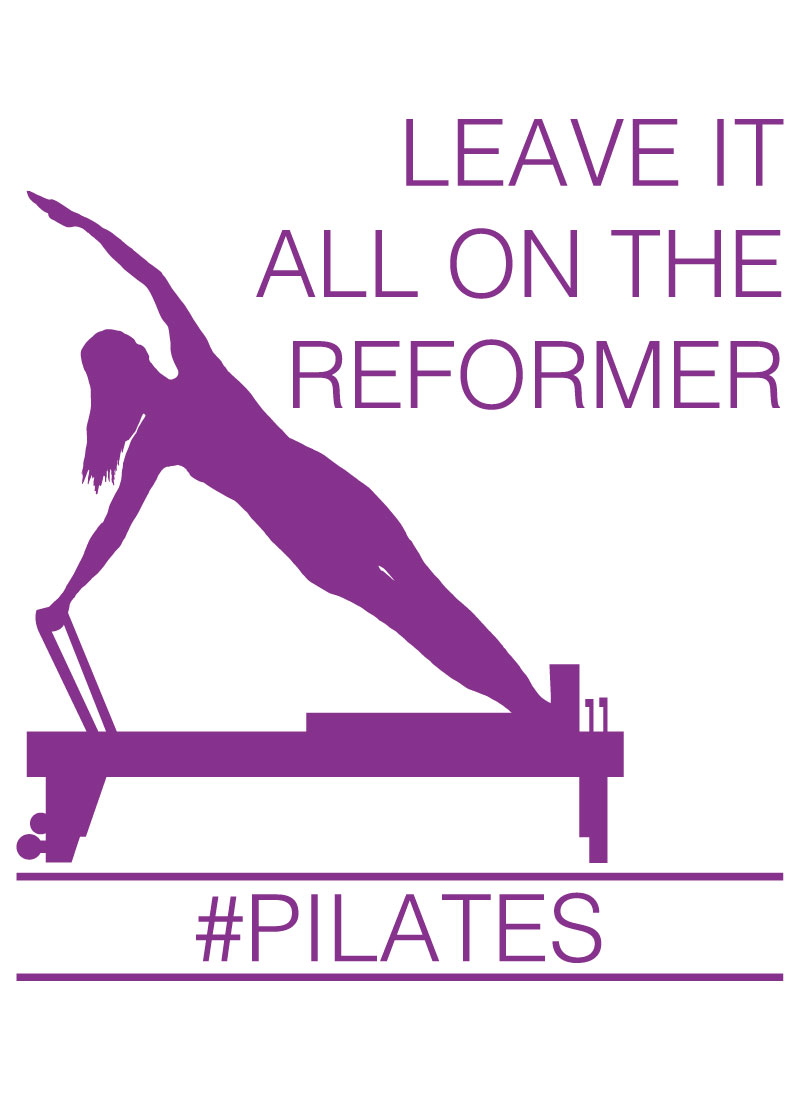 Leave It All On The Reformer #Pilates Graphic available on a variety of print wall art and home decor items through Fine Art America.