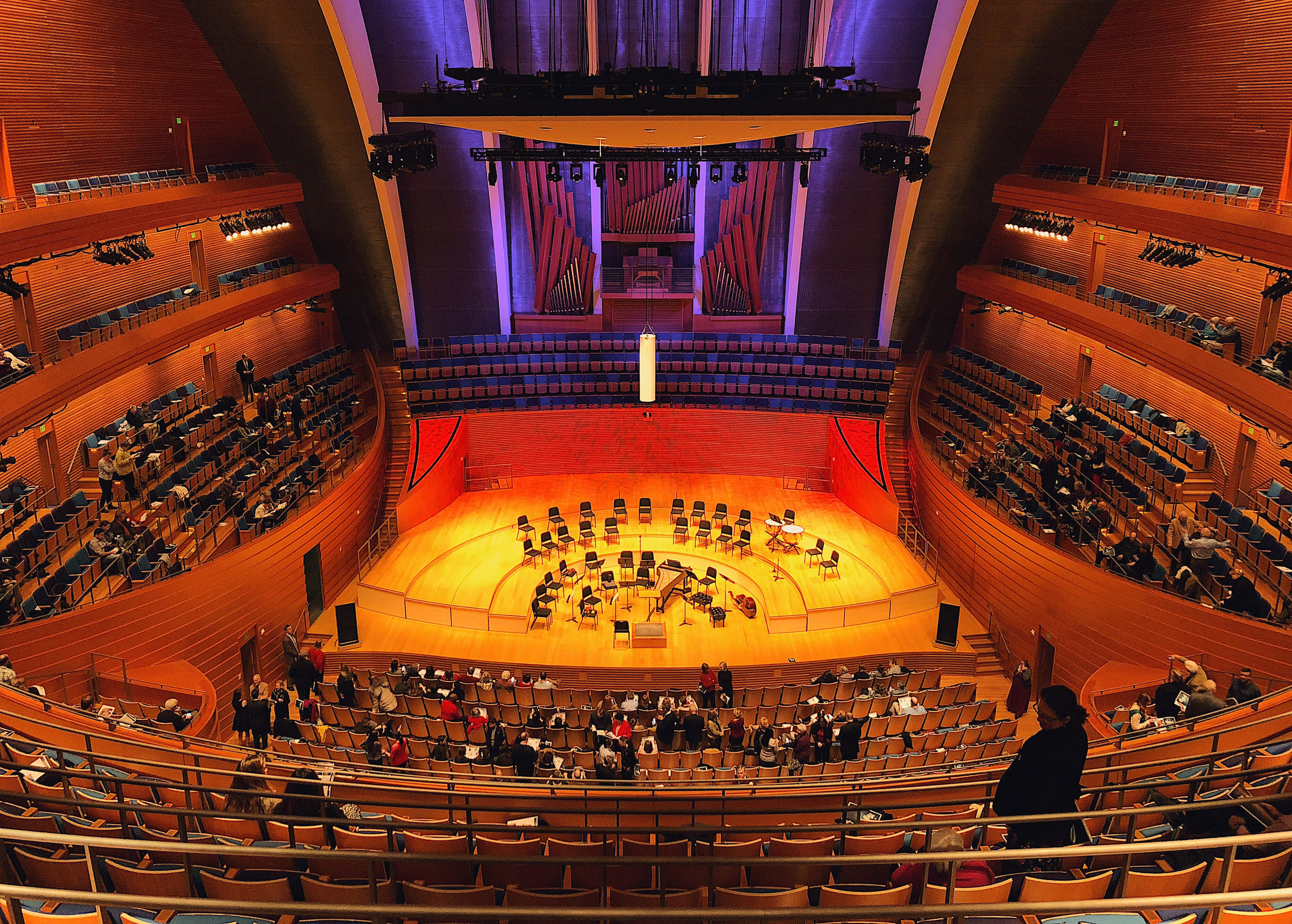 Helzberg Concert Hall, Kauffman Center for the Performing Arts. Kansas City.