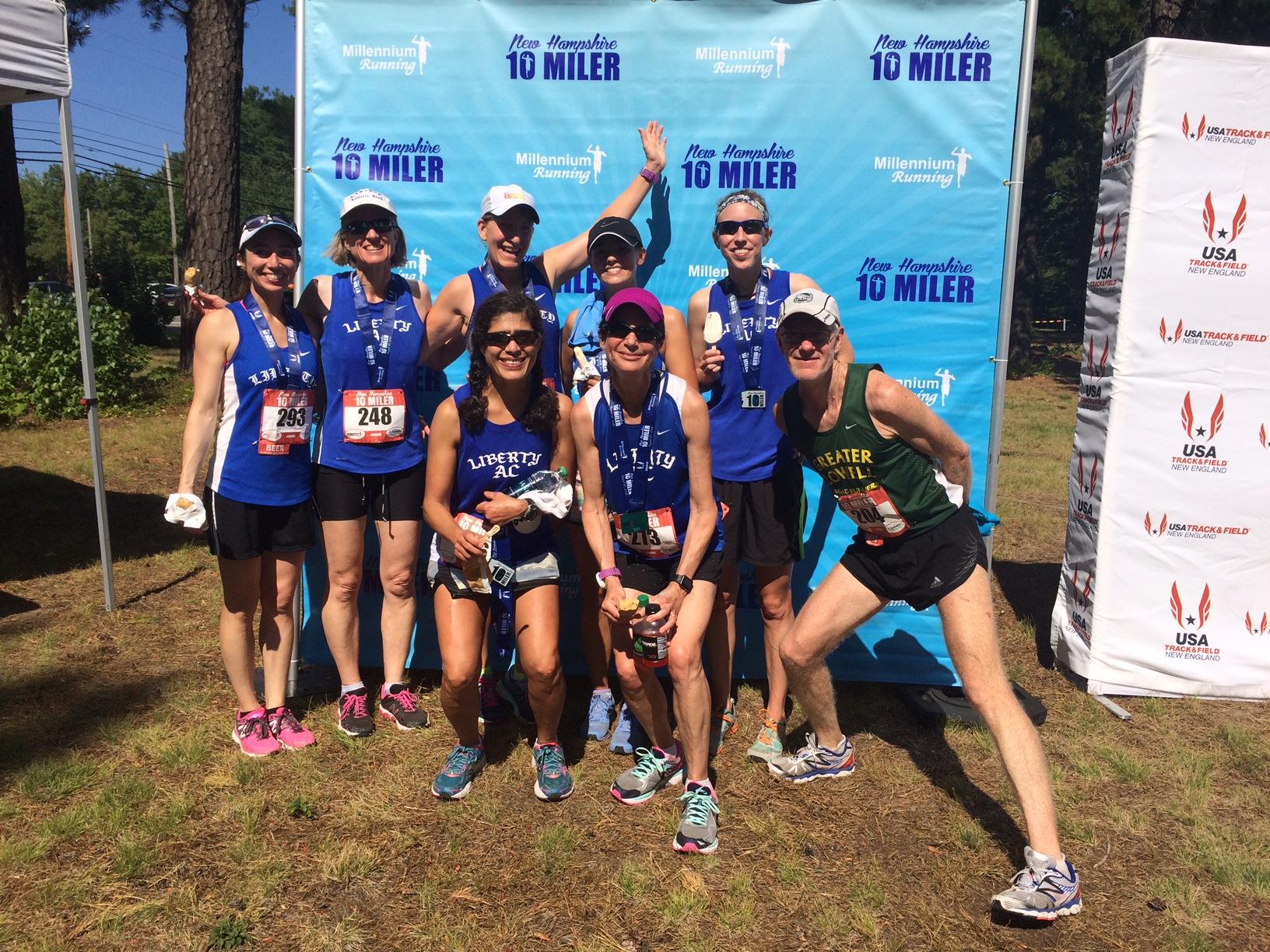 New Hampshire 10 Miler, 2016