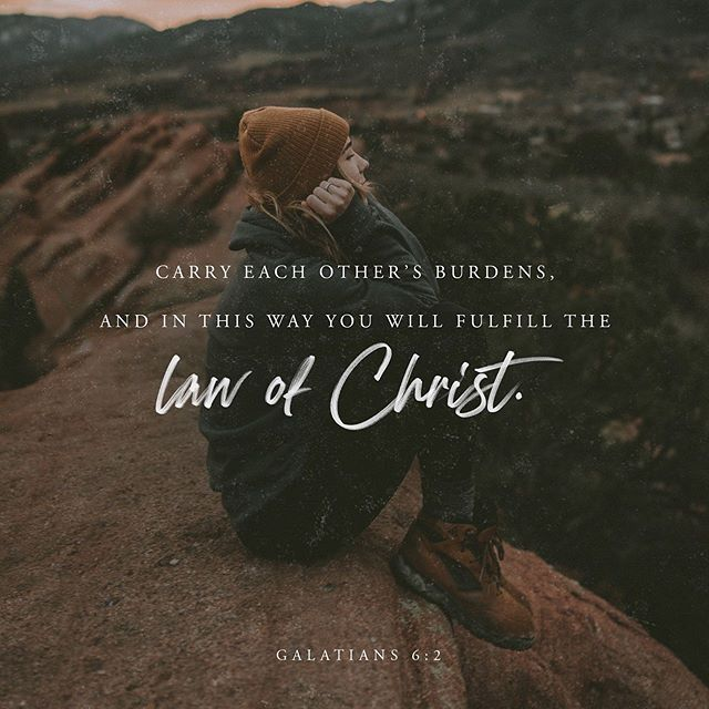 "The second verse following this scripture is elegy key too: ""Share each other's burdens, and in this way obey the law of Christ. If you think you are too important to help someone, you are only fooling yourself. You are not that important."" ‭‭Galatians‬ ‭6:2-3‬ ‭NLT‬‬ . We are called to have a servants heart as followers of Jesus. But we have to steward our heart, we can't let the woes of the world overwhelm us into saying ""There's nothing I can do"". You can't help every disaster, every need, everyone everywhere... BUT you CAN help one person, or a few people, in a deep way by intentionally focusing your energy there and pouring your love and help. When you invest your time this way you will reap a harvest! ""So let's not get tired of doing what is good. At just the right time we will reap a harvest of blessing if we don't give up."" ‭‭Galatians‬ ‭6:9‬ ‭NLT‬‬ . . . #investineachother #friendship #fellowship #giving #makingheros #sharing #storytellerchurch #growingtogether #everynation #ensocal #everynationcalifornia #galatians #galatians6v2 #galatians6v9 #dontgrowweary #harvest"