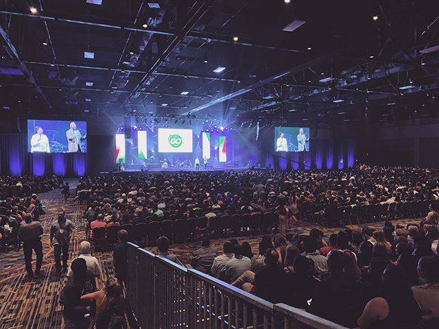 We're at the EveryNation GO conference with Pastor Phil and the rest of the team! It's been amazing watching God move and the spirit fall mightily on everyone! The 25 year anniversary of Every Nation Church is being attended right now in Florida by nations from around the world! We're believing God to open doors to other nations, that we may preach the gospel to EVERY NATION! 🙏🌎🌍🌏🙌 . . . . . #everynation #everynationGO #everynationcalifornia #storytellerchurch #ENGO2019
