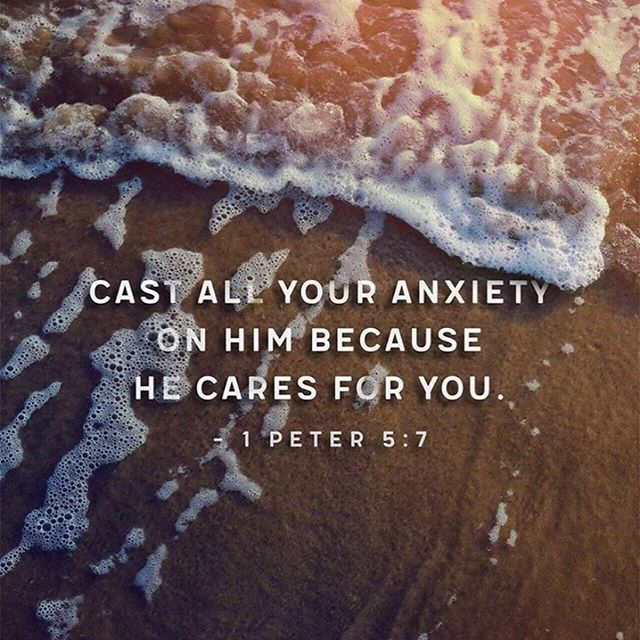 Jesus is the Prince of Peace! Do you cast your anxiety on Him, or do you bottle it up? Have you taken the time today to tell him your worries, doubts and fears? He promises to keep us in perfect peace whose mind is fixed on Him (Isaiah 26:3) 💜🙏