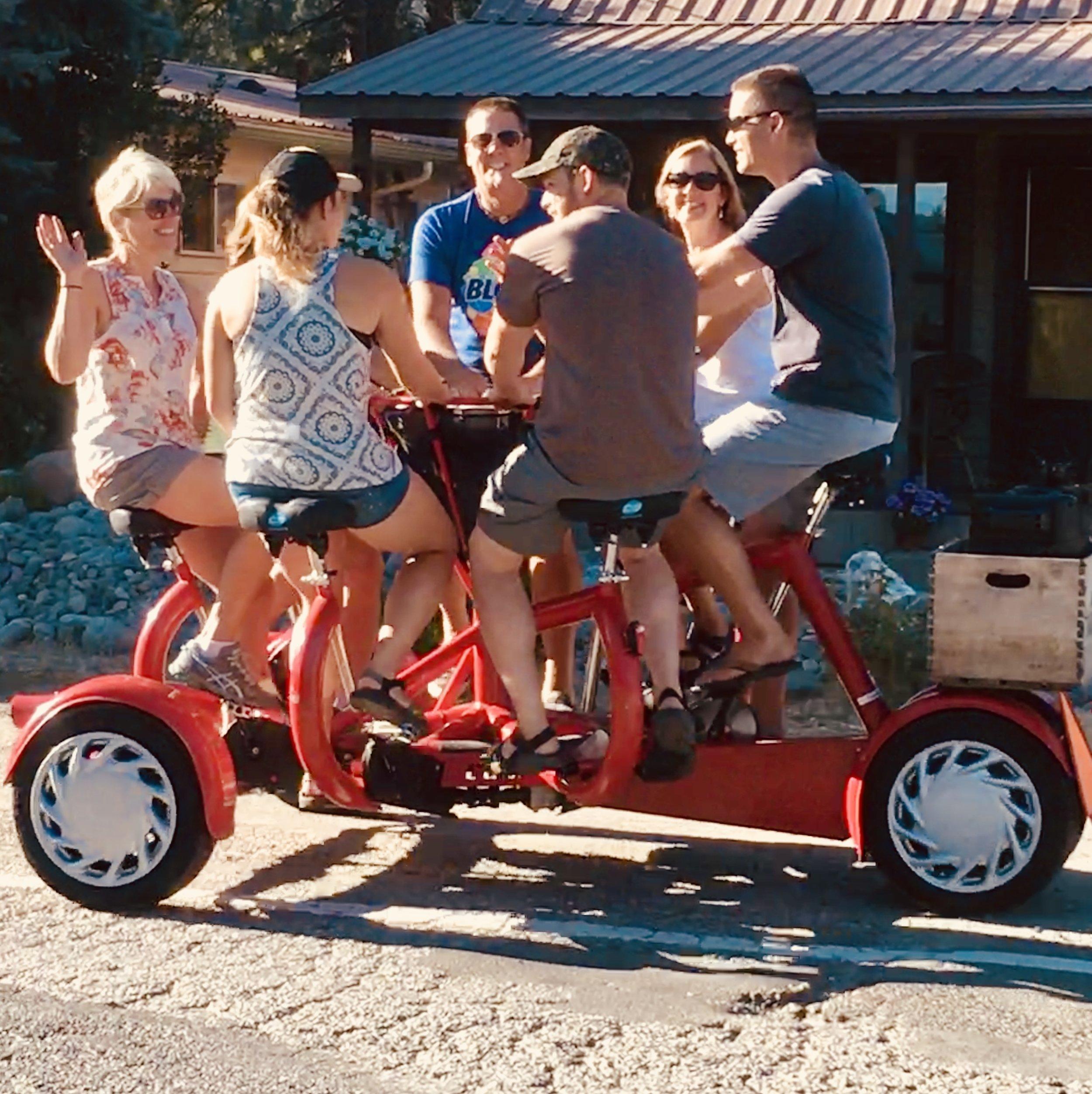 Leavenworth Radtour Group