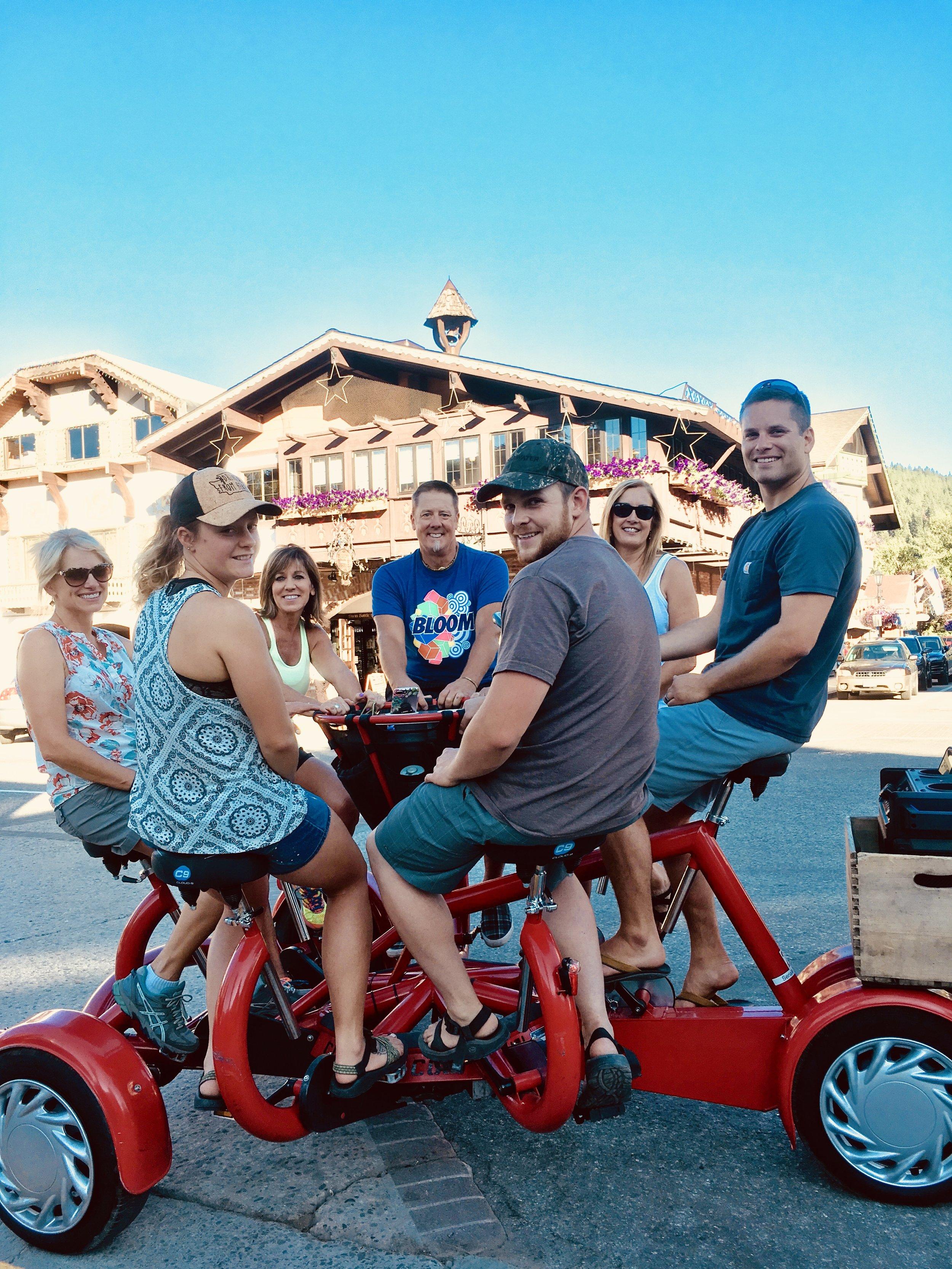 Leavenworth Radtour
