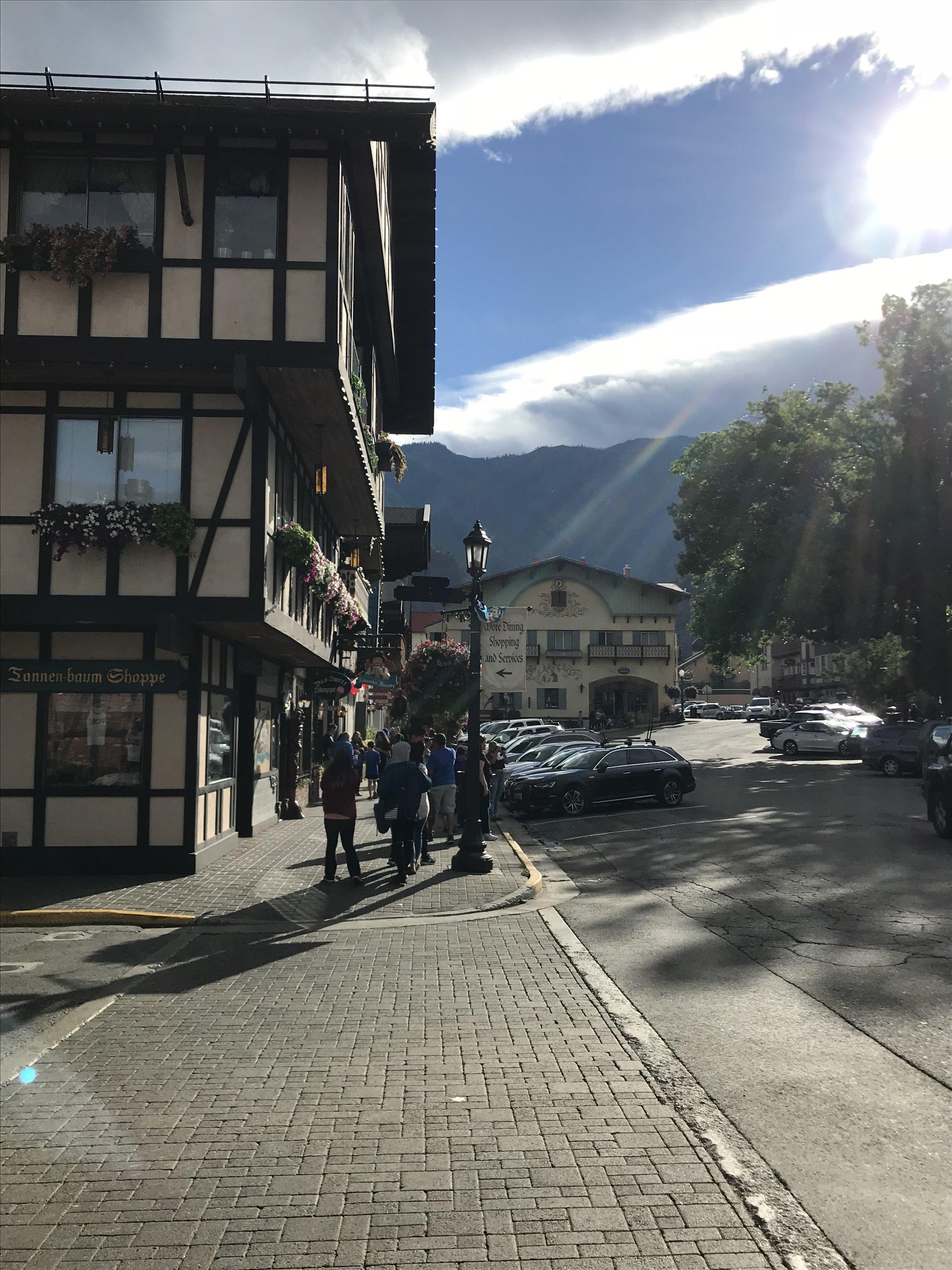 Afternoon in Leavenworth