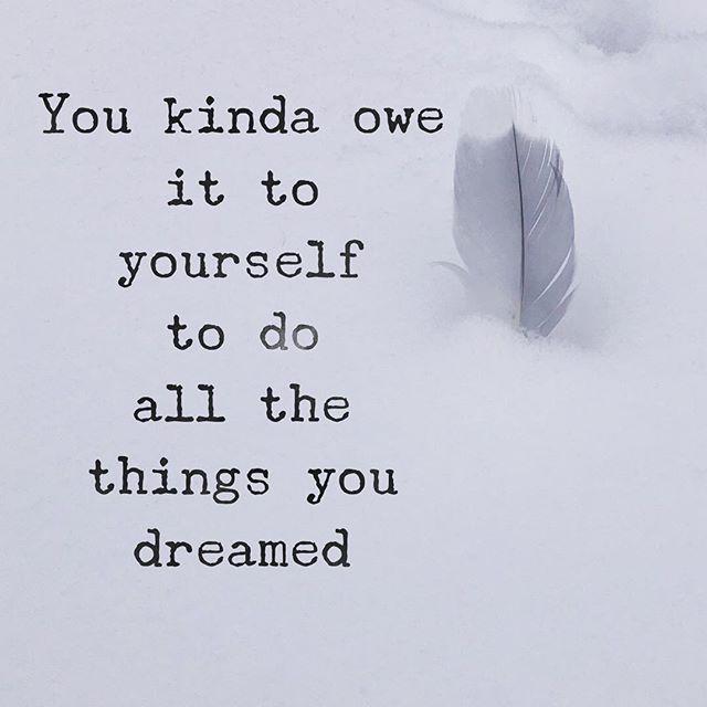 Dream a little Dream #ormaybeabigone 💕