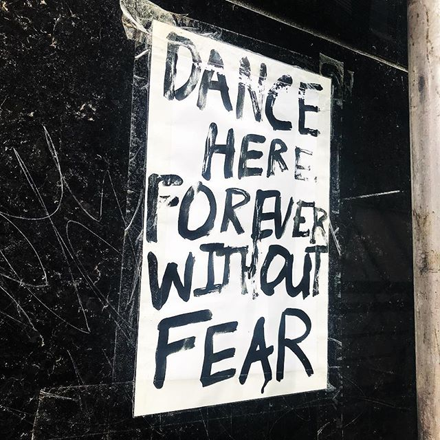 Here is wherever you are! #dancewithoutfear #yep