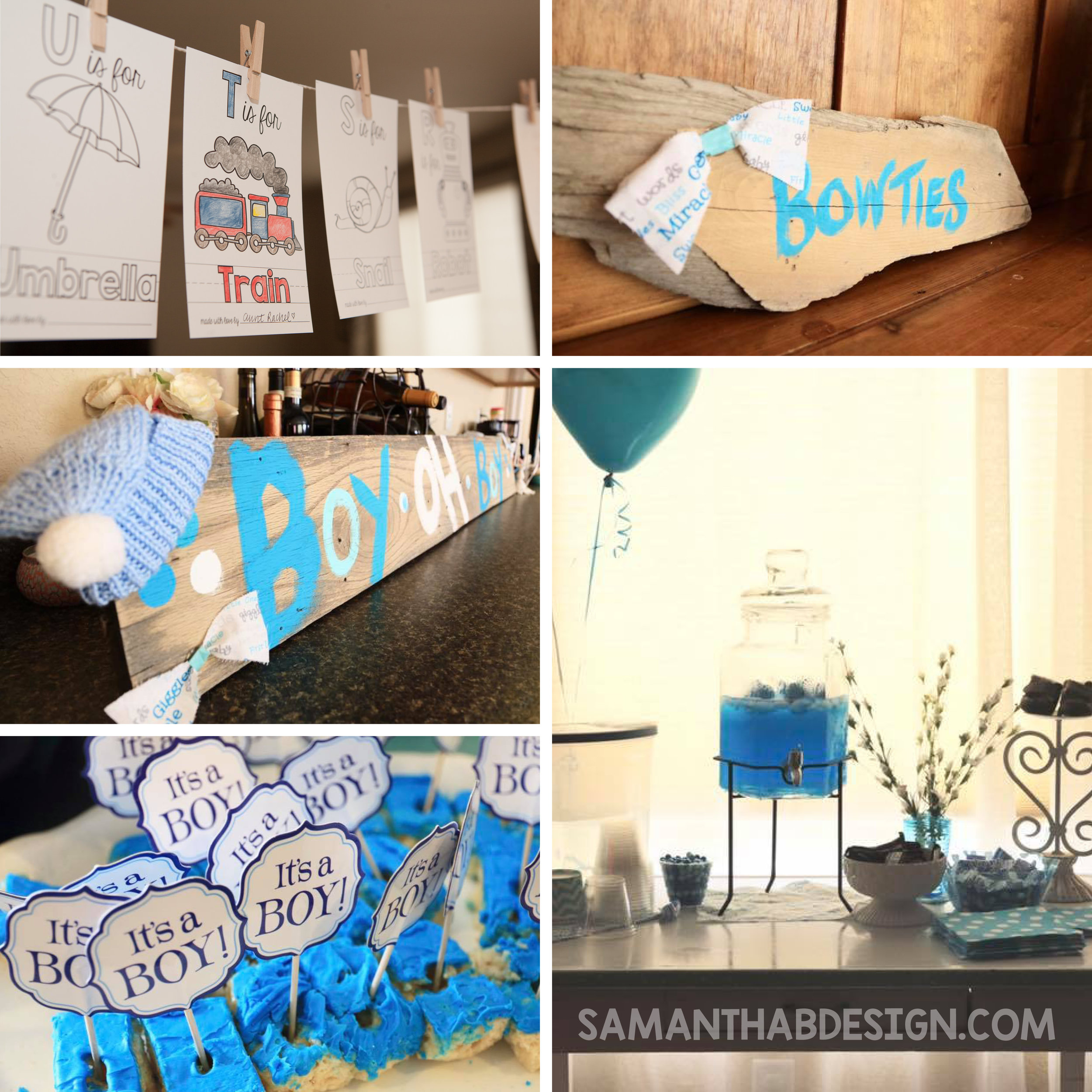 Baby Boy Shower Ideas 1