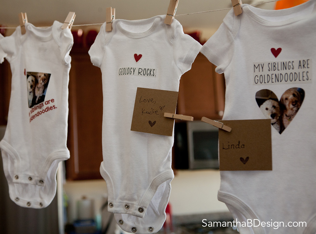 Decorate Onesies Baby Shower Activity