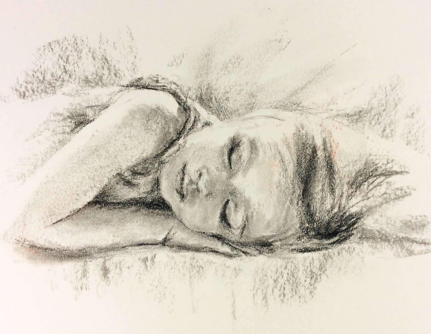 Claudia Sleeping #4