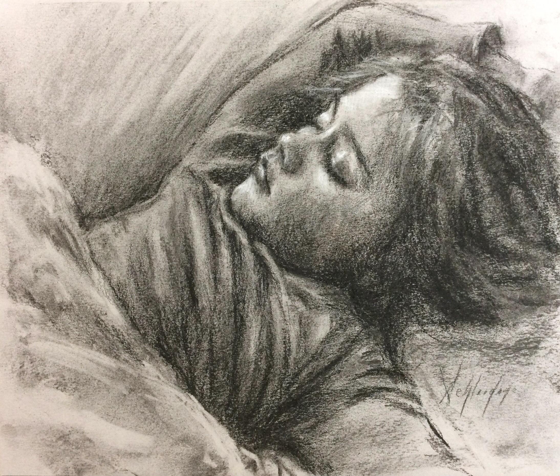 Claudia Sleeping #10