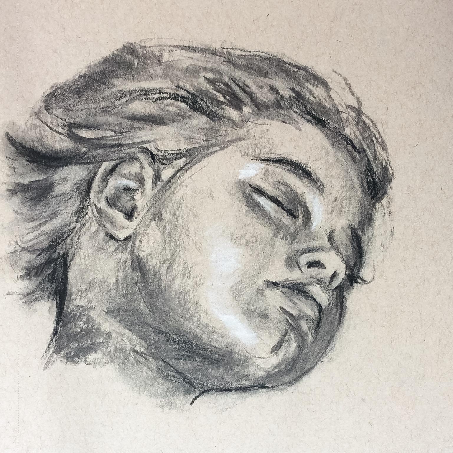 Claudia Sleeping #9